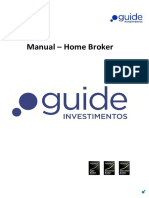 Manual Do HomeBroker