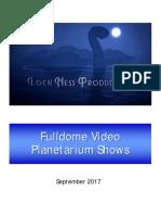 LNP Fulldome Catalog