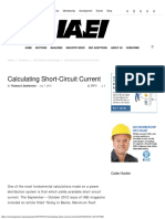 Calculating Short-Circuit Current IAEI Magazine