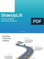 SlideUpLift | Product RoadMap PowerPoint Templates | Product RoadMap PPT Slide Designs