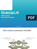 SlideUpLift | SWOT Analysis PowerPoint Templates | SWOT Analysis PPT Slide Designs