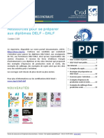 Focus Ressources Preparation Delf Dalf