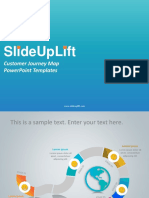 SlideUpLift | Customer Journey Map PowerPoint Templates | Customer Journey Map PPT Slide Designs