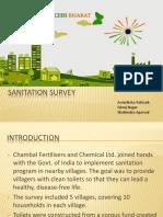 Sanitation Survey