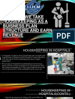 How Can We Take Housekeeping as a Buisness