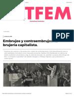 Embrujos y contraembrujos_ la brujería capitalista. - LatFem