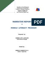 Narrative Report in ALS