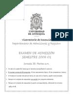 Examen 2008 1 Jornada 3B