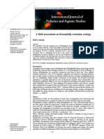 A Field Assessment on Karnafully Estuarine Ecology