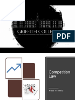 Competition Law - Art. 101