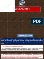 Tacheometry Part 1 2015
