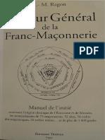 J. -M. Ragon - Tuileur general de la Franc-Maçonnerie.pdf