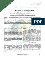 Client Resource Management
