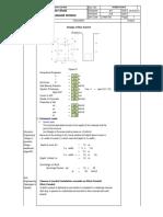 Box Culvert Design Calculation