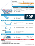 Sd-smg-100-003 Rev.08 Price List Rooftop 25 April 2018