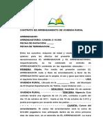 CONTARATO DE ARRENDAMIENTO VIVIENDA RURAL.doc