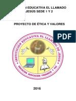 Proyecto de Ética y Valores