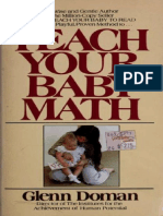 [PDF] Teach Your Baby Math - Glenn Doman.pptx