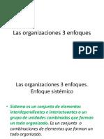 0_1 Presentacion de Las Organizaciones 3 Enfoques