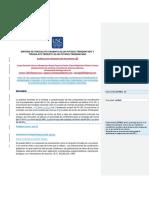 Informe SINTESIS DE TRIOXALATO CROMATO (III) DE POTASIO TRIHIDRATADO Y TRIOXALATO FERRATO (III) DE POTASIO TRIHIDRATADO