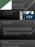 Sistemas Constructivos en La Época de La Colonia