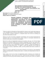 [Jurisprudência] - Acórdão - 2a. Turma Recursal Tjpr - Nao Se Aplica a Convenção de Montreal Em Caso de Cancelamento