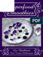 Superfood Smoothies - Liv Bjoerklund