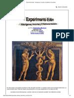 Experimento Edén - Alienígenas, Arcontes y El Multiverso Asociativo