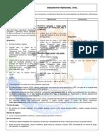 Requisitos para adquisición de armas para personal civil