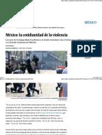 México La Cotidianidad de La Violencia