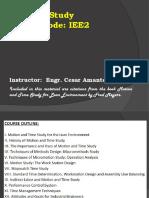 methods study