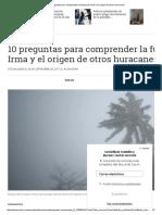 Analisis Del Impacto de Irma