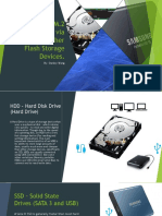 ssds hdds and similar presentation