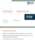 Lecture 9 Shear Flow