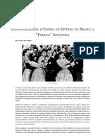 Industrialização e Cinema de Estúdio no Brasil