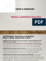 BS 702 Module 1 - Leadership Excellence - (F)