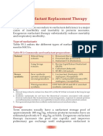 Surfactant Replacement Therapy - 2019
