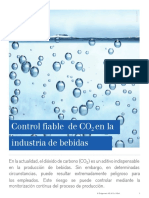 Control CO2 Industria Bebidas
