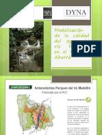Modelización de La Calidad Del Agua Del Río de Medellin