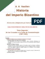 Historia Del Imperio Bizantino II