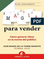 J.M. TORRE - Magia Para Vender