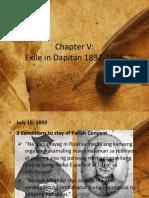 Exile in Dapitan 1892-1896