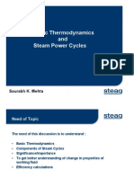 Thermodynamics and Cycles