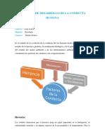 Factores de Desarrollo de La Conducta Humana