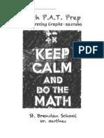 interpreting graphs - solutions
