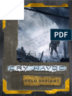 Cry Havoc Solo Variant Rules