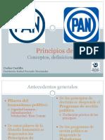 Principios de Doctrina PAN Carlos Castillo López