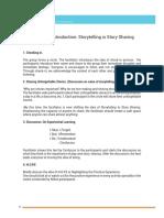 Storytelling Workshop Module