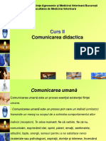2. Comunicarea didactica