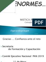Mística del Consejero de Acción Nacional, Gerardo Priego Tapia